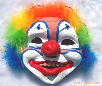 高档乳胶小丑面具 中国魔术道具批发网